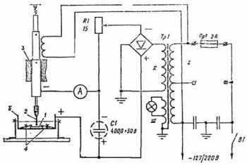 Электроискровая установка своими руками