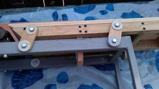 Подъёмный стол для фуганка своими руками 49