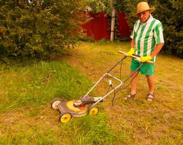 Как из болгарки сделать газонокосилку 389