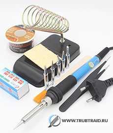 Электрический паяльник для медных труб - купить профессиональные электрощипцы в Санкт-Петербурге